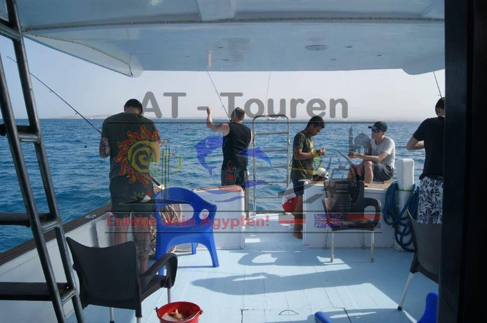 Tagesausflug Fischen Angeln in Hurghada am Roten Meer