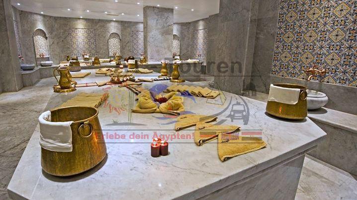 Ausflug in Hurghada mit AT-Touren - Spa / Wellness / Sauna/ Jacuzzi...
